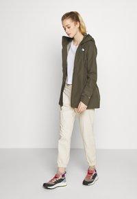 The North Face - WOMENS HIKESTELLER JACKET - Hardshell jacket - new taupe green - 1