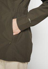 The North Face - WOMENS HIKESTELLER JACKET - Hardshell jacket - new taupe green - 6