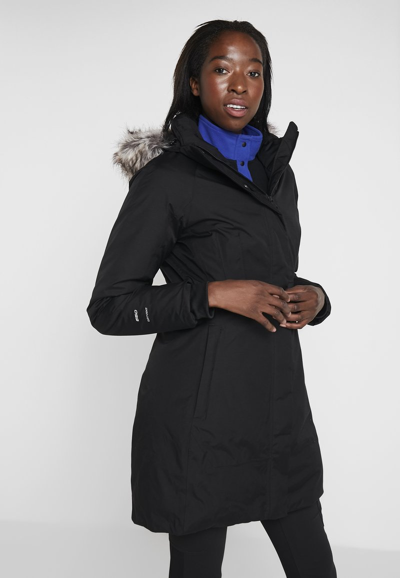 The North Face - ARCTIC  - Daunenmantel - black