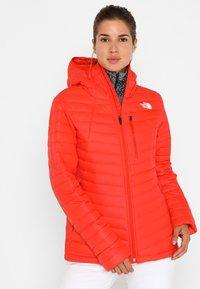 The North Face - PREM - Skijakke - valencia orange - 0