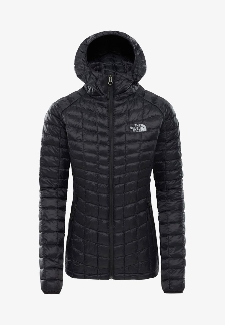 The North Face - W THERMOBALL SPORT HOODIE - Chaqueta de invierno - black