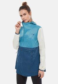 The North Face - WOMENS FANORAK - Veste coupe-vent - blue - 0
