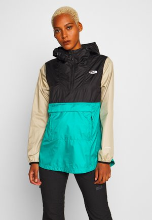 WOMENS FANORAK - Veste coupe-vent - teal