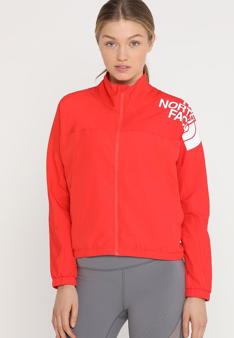 The North Face - TRAIN LOGO - Giacca sportiva - juicy red