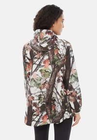 The North Face - W PRINT FANORAK - Veste coupe-vent - white - 1
