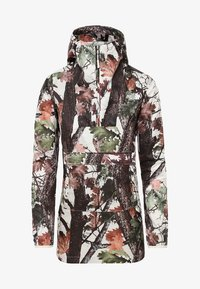 The North Face - W PRINT FANORAK - Veste coupe-vent - white - 2