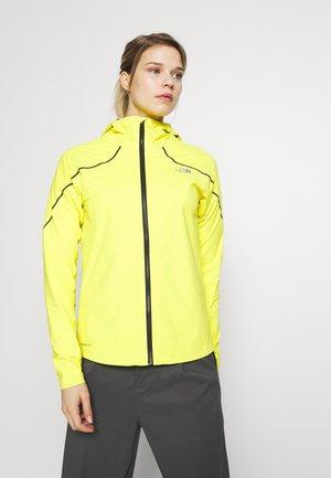 W FLIGHT FUTURELIGHT JACKET - Hardshell jacket - lemon