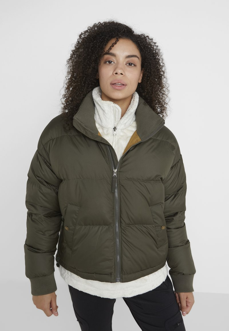 The North Face - PARALTA PUFFER - Dunjakker - new taupe green/british khaki