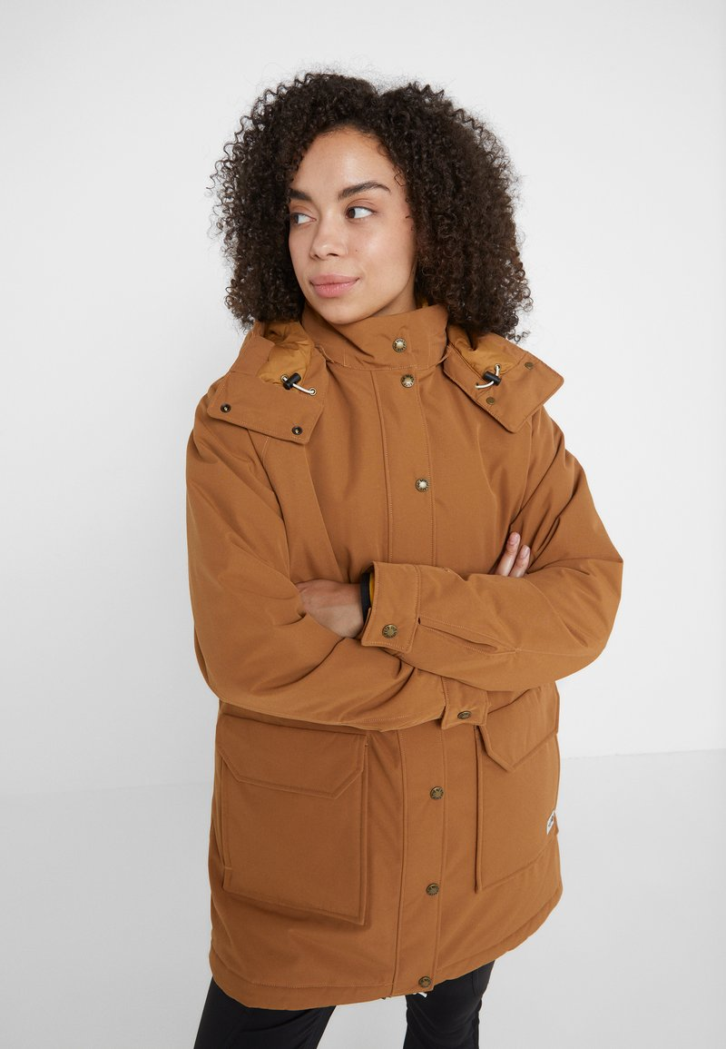 The North Face - INSULATED ARCTIC MOUNTAIN JACKET - Kurzmantel - chipmunk brown