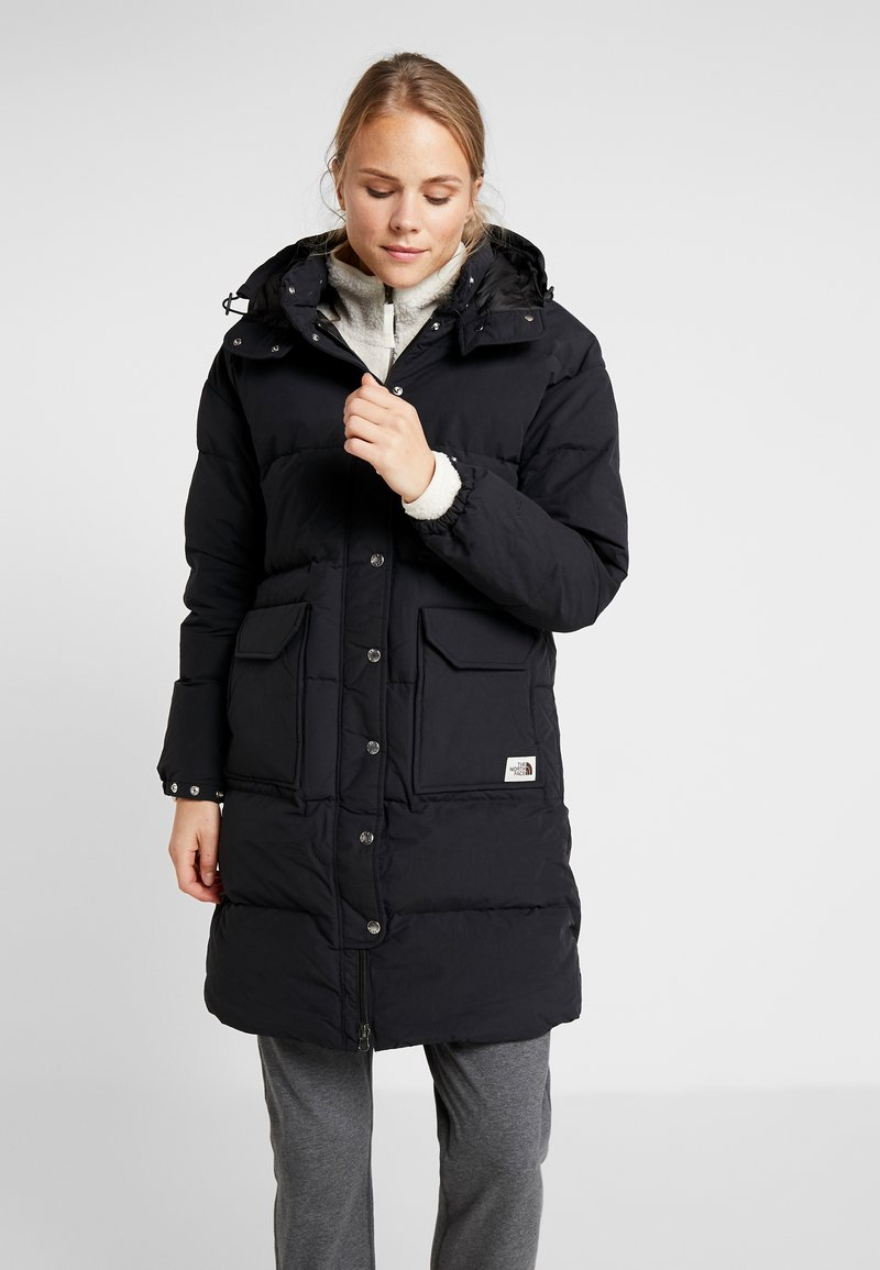 The North Face - SIERRA LONG JACKET - Daunenmantel - black