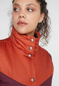 The North Face - SYLVESTER VEST - Waistcoat - picante red/deep garnet red - 5