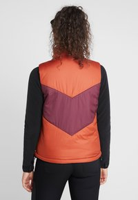 The North Face - SYLVESTER VEST - Waistcoat - picante red/deep garnet red - 2