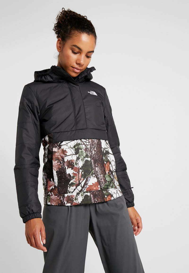 The North Face - INSULATED FANORAK - Kurtka Outdoor - black