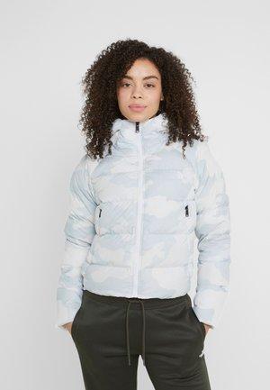 HYALITE HOODIE - Gewatteerde jas - white