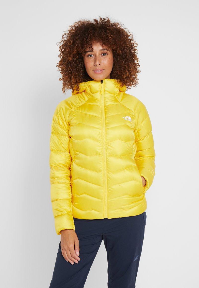 The North Face - IMPENDOR HOODIE - Daunenjacke - vibrant yellow