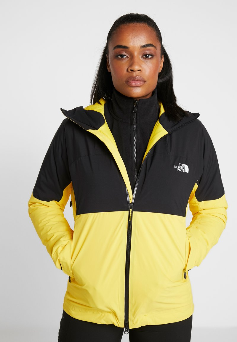The North Face - IMPENDOR INSULATED JACKET NEW - Ulkoilutakki - vibrant yellow