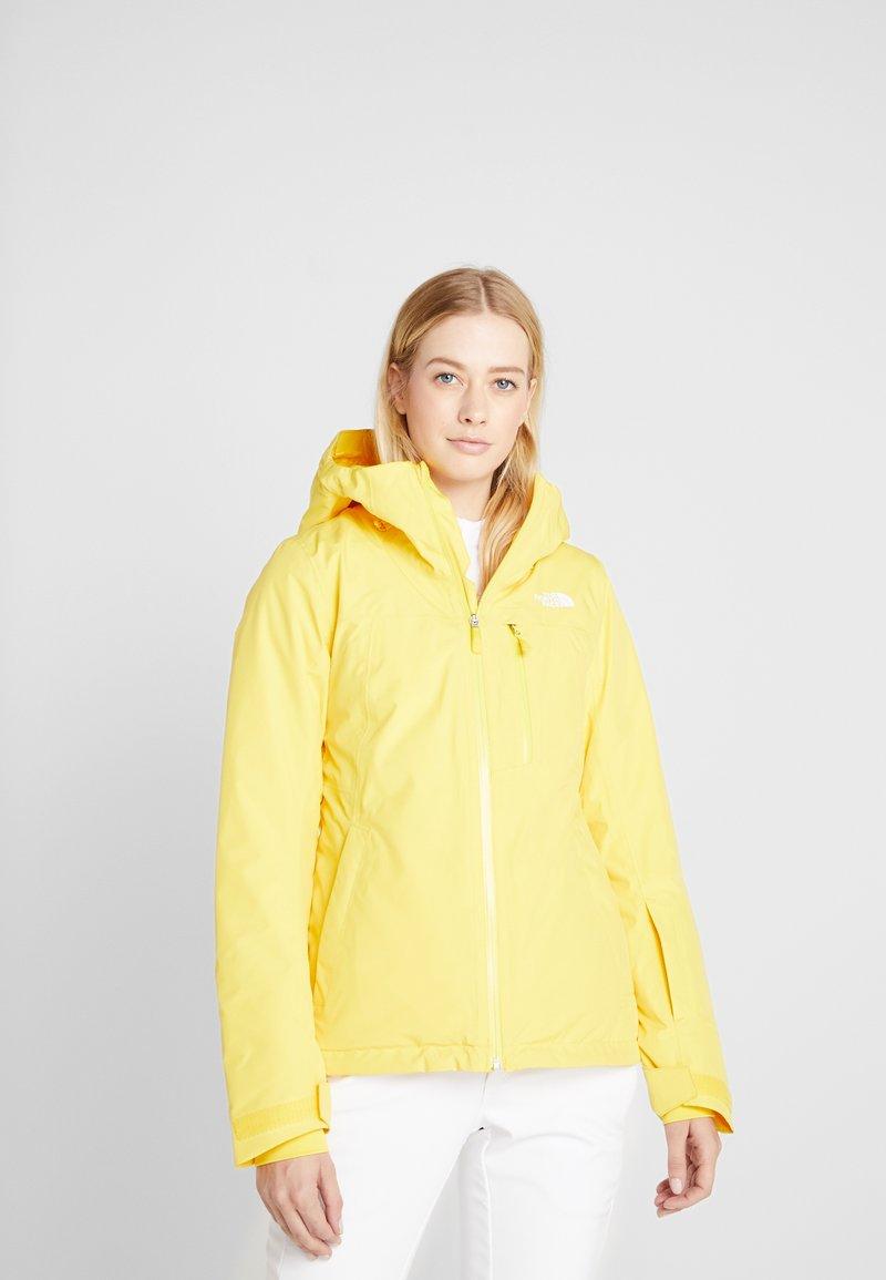 The North Face - DESCENDIT JACKET - Giacca da sci - vibrant yellow