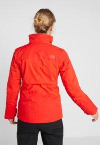 The North Face - LENADO JACKET - Skijakke - fiery red - 3