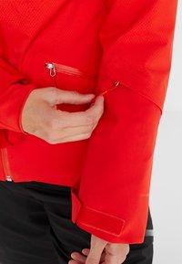The North Face - LENADO JACKET - Skijakke - fiery red - 6