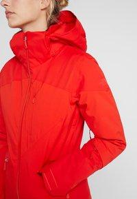 The North Face - LENADO JACKET - Skidjacka - fiery red - 5