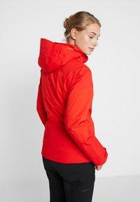 The North Face - LENADO JACKET - Skijakke - fiery red - 2