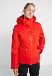 The North Face - LENADO JACKET - Skijakke - fiery red - 0