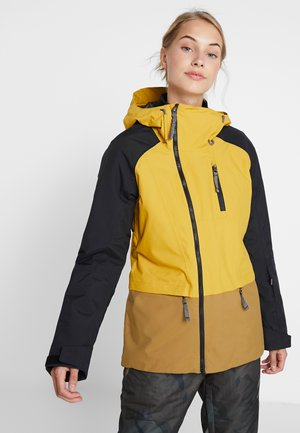 SUPERLU JACKET - Ski jacket - golden spice/black/british khaki