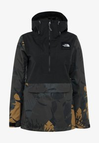 The North Face - TANAGER JACKET - Giacca hard shell - tnf black/new taupe green palms print - 6