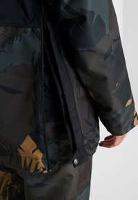 The North Face - TANAGER JACKET - Giacca hard shell - tnf black/new taupe green palms print - 4