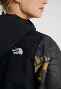 The North Face - TANAGER JACKET - Giacca hard shell - tnf black/new taupe green palms print - 7