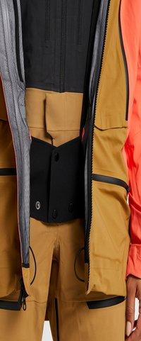The North Face - W PURIST FutureLight™ JACKET - Skijakke - radiant orange/british khaki - 3