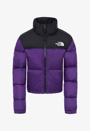 W NUPTSE CROP - Down jacket - bordeaux