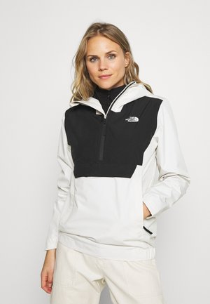 WOMEN'S WATERPROOF FANORAK - Windbreaker - vintage white