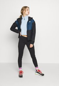 The North Face - WOMENS FARSIDE JACKET - Hardshelljacke - blue wing teal - 1