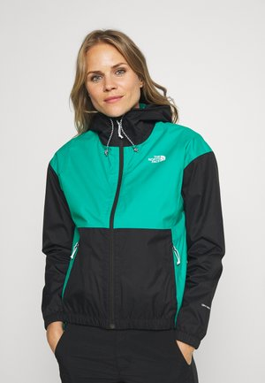 WOMENS FARSIDE JACKET - Giacca hard shell - jaiden green