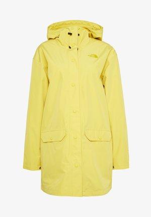 WOMENS WOODMONT RAIN JACKET - Chaqueta Hard shell - bamboo yellow