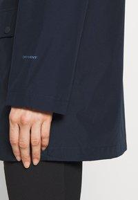 The North Face - WOMENS WOODMONT RAIN JACKET - Hardshell jacket - urban navy - 4