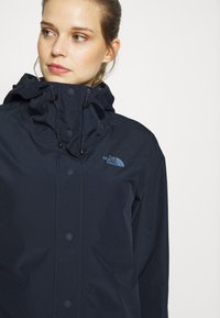 The North Face - WOMENS WOODMONT RAIN JACKET - Hardshell jacket - urban navy - 3