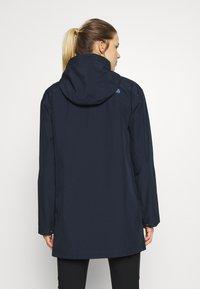 The North Face - WOMENS WOODMONT RAIN JACKET - Hardshell jacket - urban navy - 2