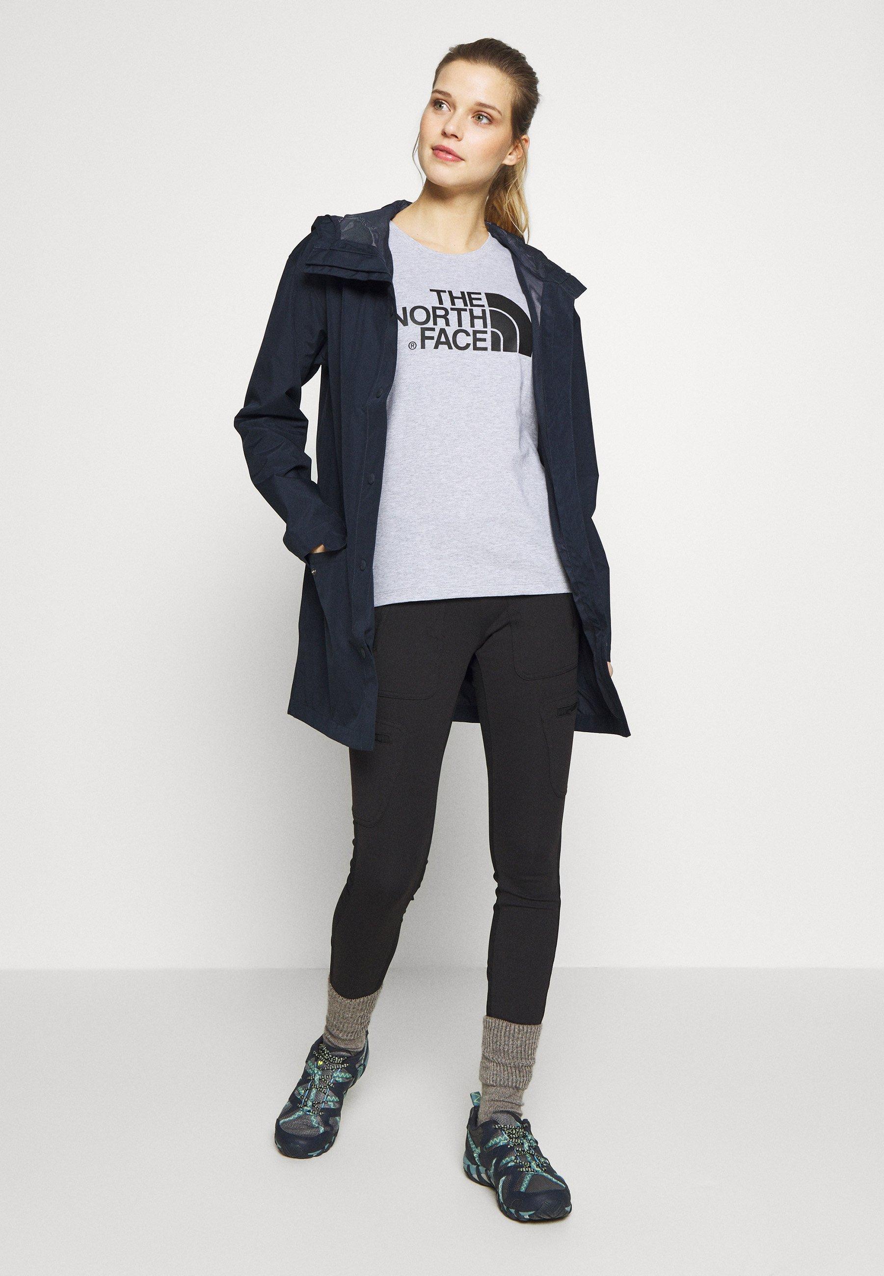 The North Face Womens Woodmont Rain Jacket - Hardshell Urban Navy UK