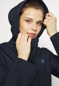 The North Face - WOMENS WOODMONT RAIN JACKET - Hardshell jacket - urban navy - 6