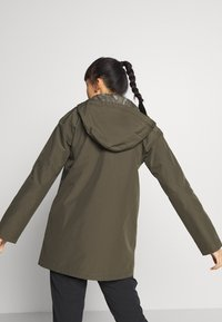 The North Face - WOMENS WOODMONT RAIN JACKET - Hardshell jacket - new taupe green - 2