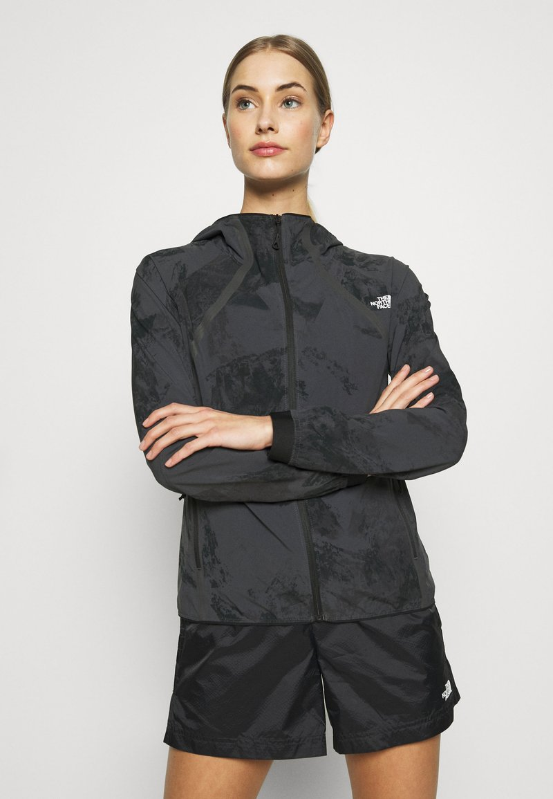 The North Face - WOMENS VARUNA JACKET WITH PRINT - Veste coupe-vent - grey