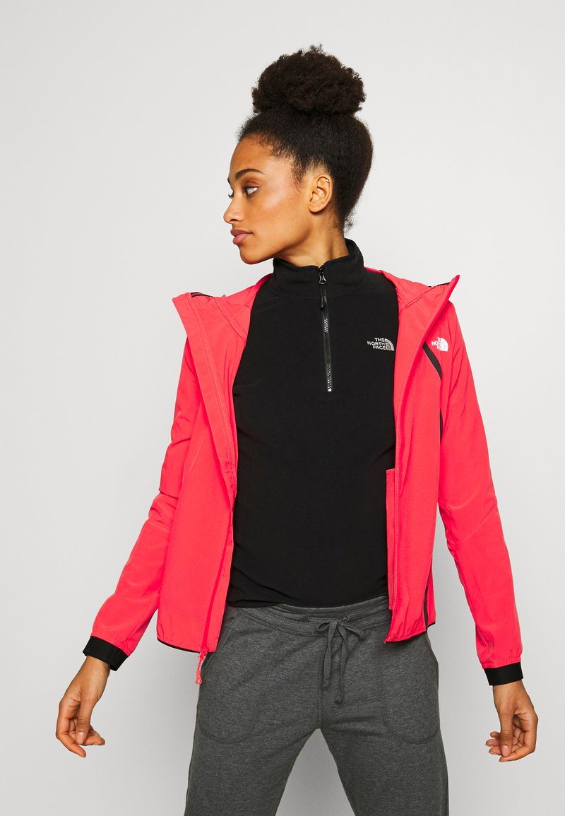 The North Face - WOMENS VARUNA JACKET WITH PRINT - Veste coupe-vent - cayenne red