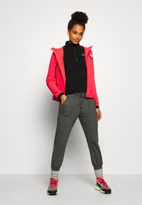 The North Face - WOMENS VARUNA JACKET WITH PRINT - Veste coupe-vent - cayenne red - 1