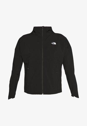 WOMENS AMBITION H20 JACKET - Hardshell jacket - black