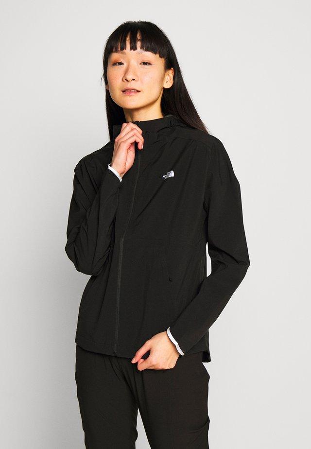 WOMENS AMBITION H20 JACKET - Hardshellová bunda - black