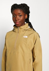 The North Face - W ARQUE ACTIVE TRAIL FUTURELIGHT JACKET - Giacca hard shell - kelp tan - 4