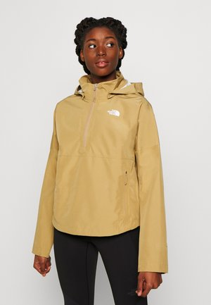 W ARQUE ACTIVE TRAIL FUTURELIGHT JACKET - Giacca hard shell - kelp tan
