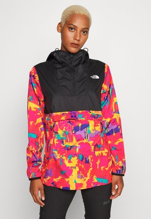 WOMENS PRINTED FANORAK - Blouson - mr pink/black